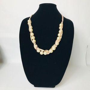 J.Crew  Pearl Ribbon necklace #118